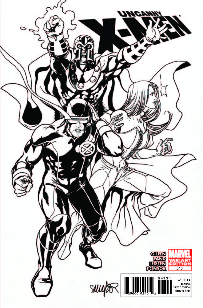 Uncanny X-Men (1963) #543 (Architect Sketch Variant)