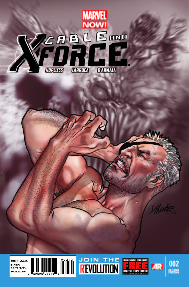 Cable and X-Force (2012) #2 (2nd Printing Variant)