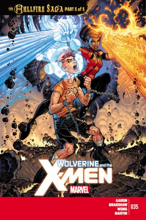Wolverine & the X-Men #35