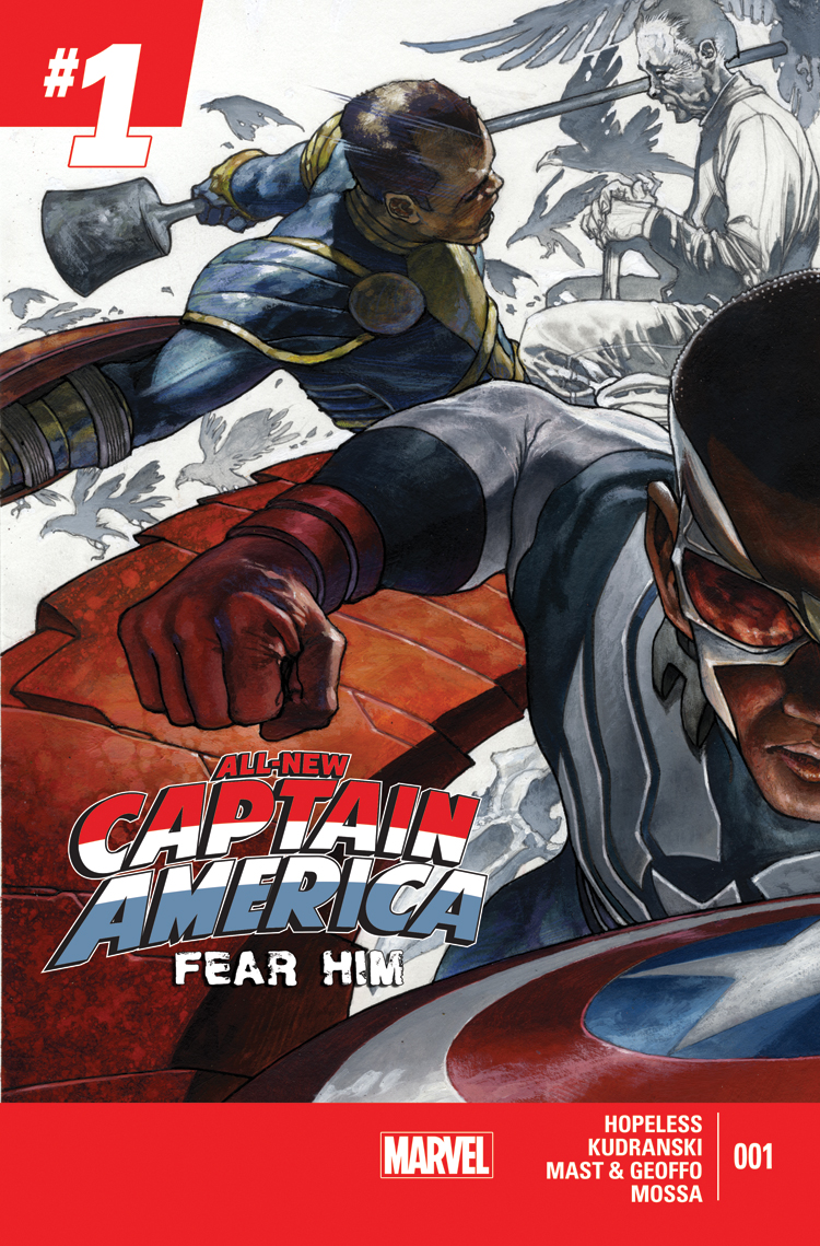All-New Captain America: Fear Him (2015) #1