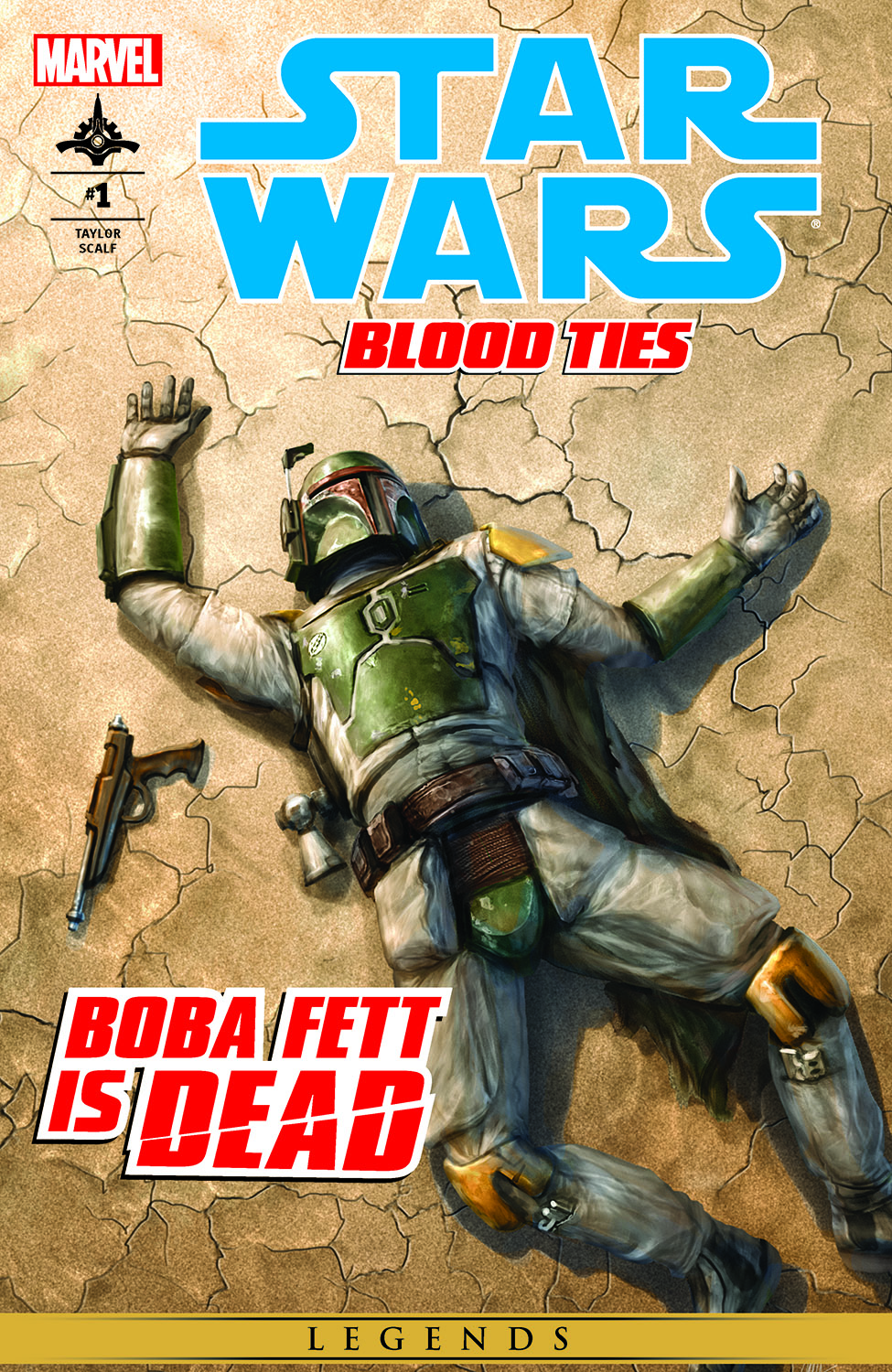 Star Wars: Blood Ties - Boba Fett Is Dead (2012) #1