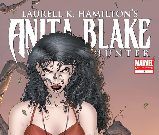 ANITA BLAKE, VAMPIRE HUNTER: GUILTY PLEASURES (2006) #7 Cover