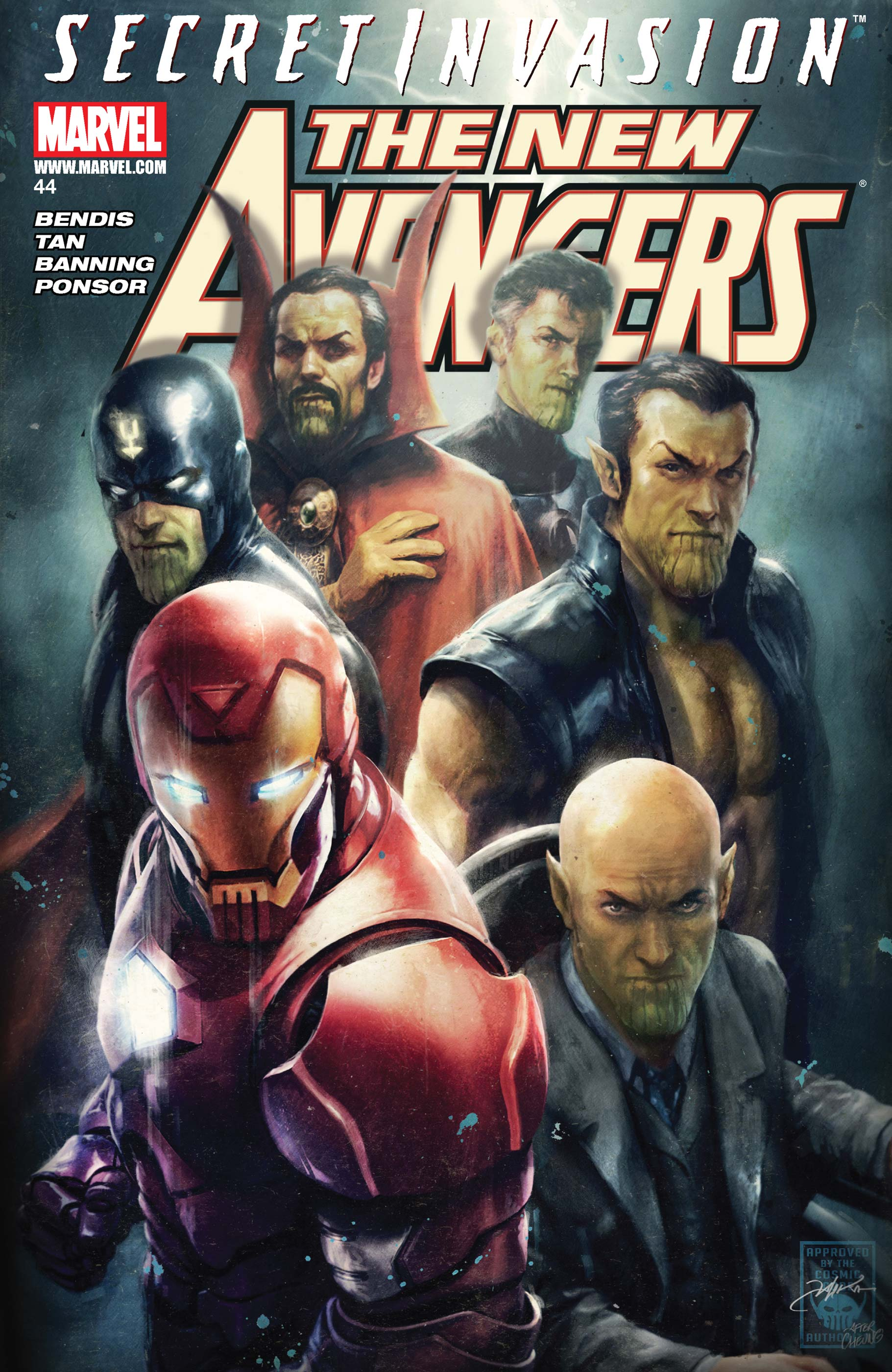 New Avengers (2004) #44