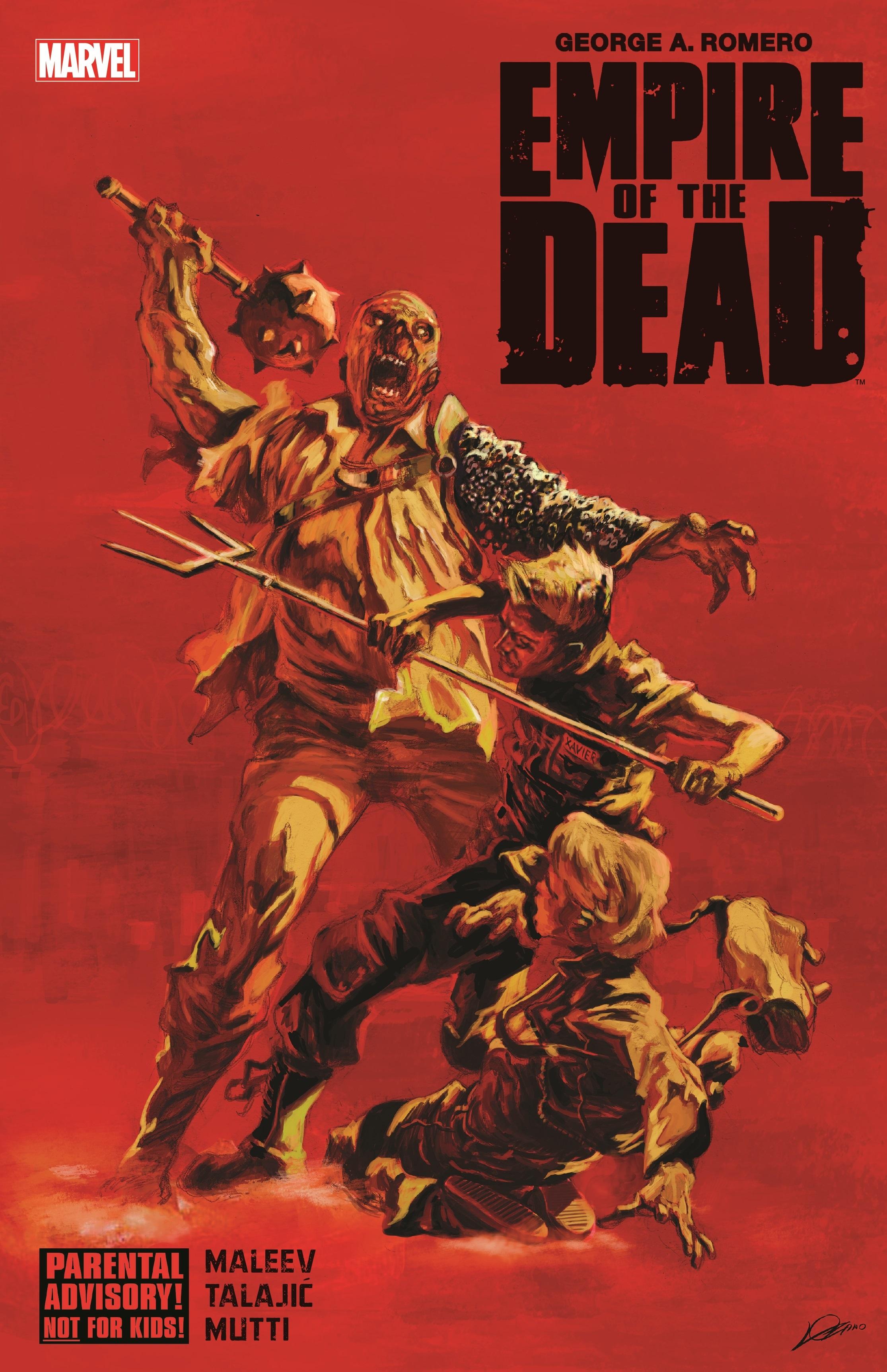 George Romero's Empire of the Dead (Hardcover)