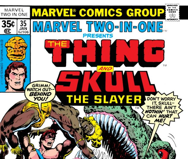 MARVEL TWO-IN-ONE (1974) #35