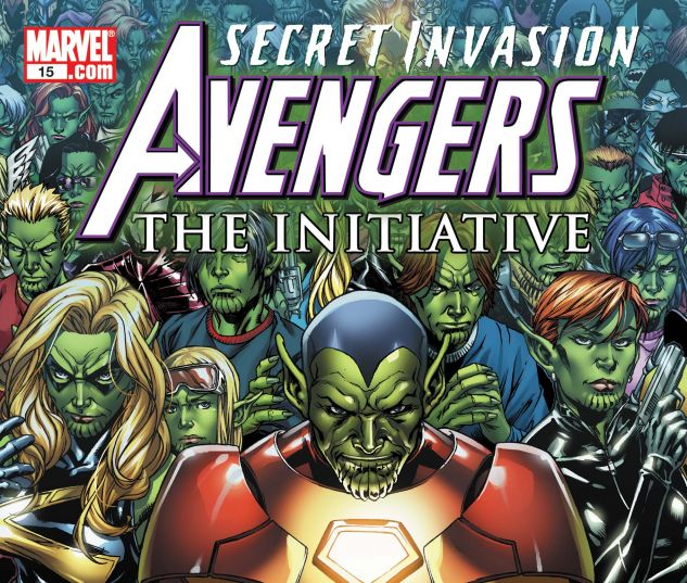 AVENGERS: THE INITIATIVE (2007) #15