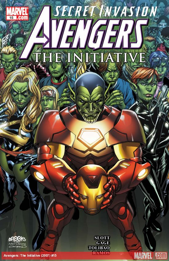 Avengers: The Initiative (2007) #15