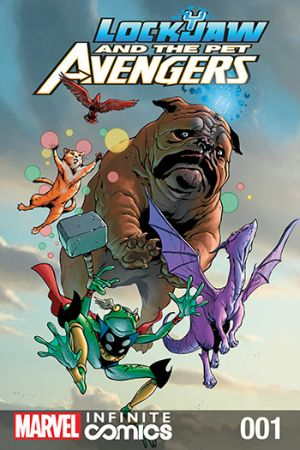 Lockjaw and the Pet Avengers (2017) #1