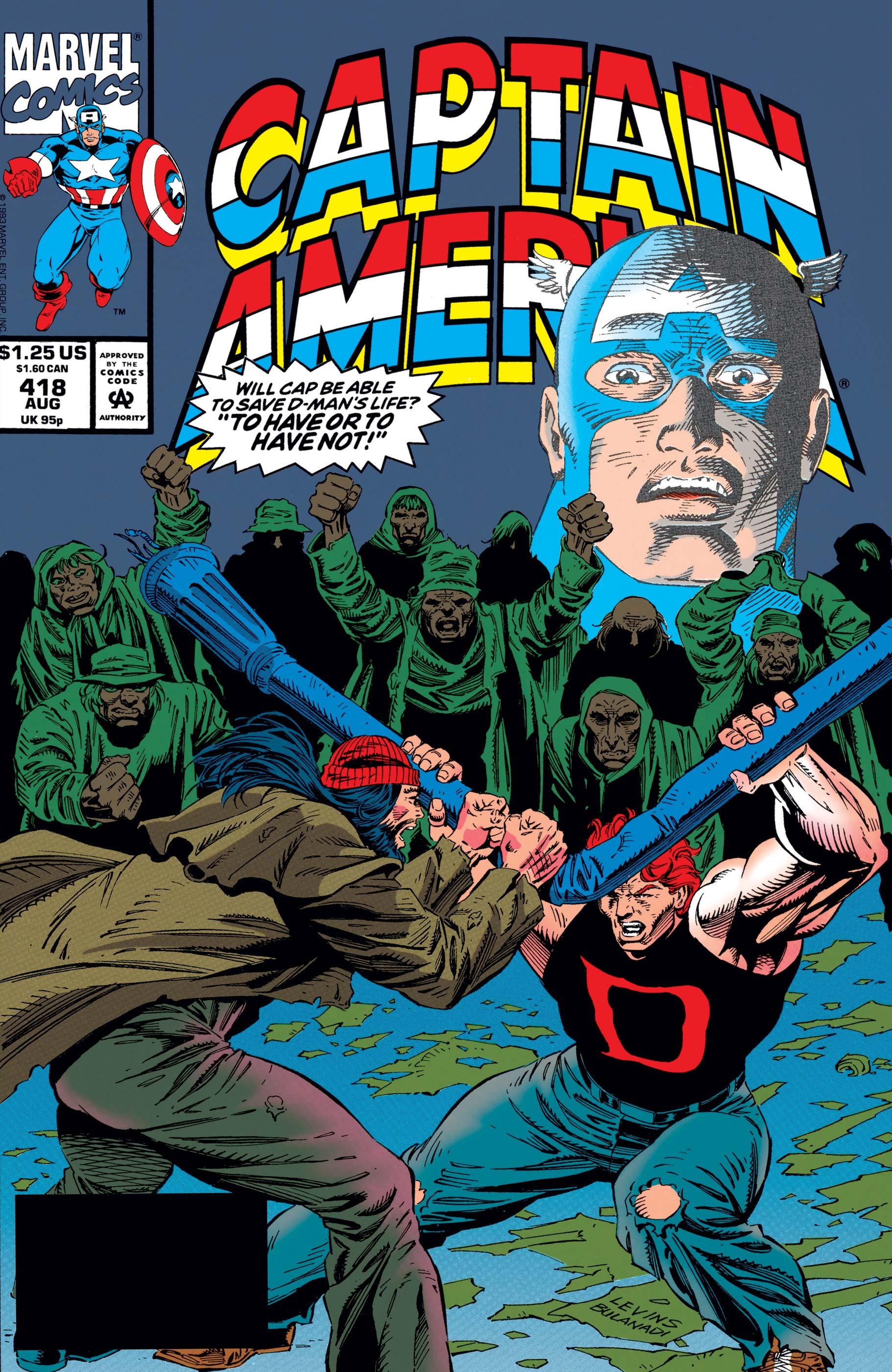 Captain America (1968) #418
