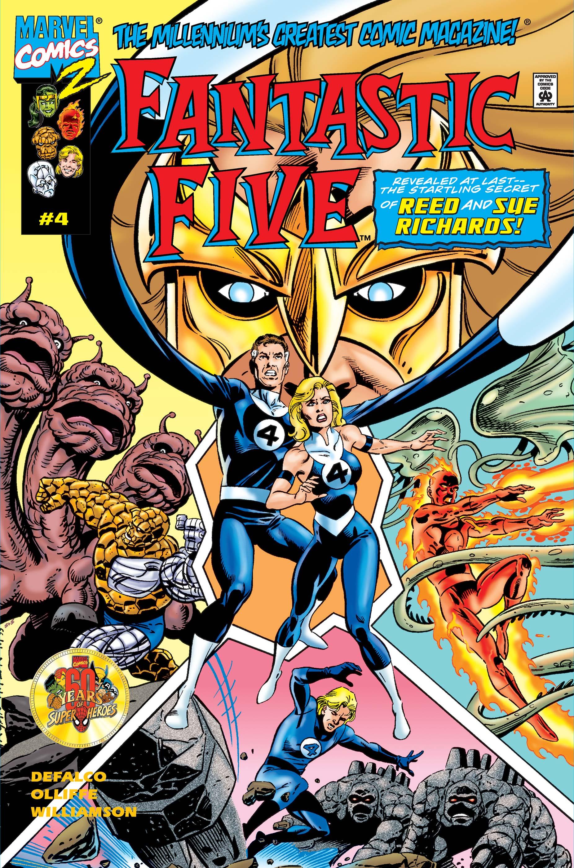 Fantastic Five (1999) #4