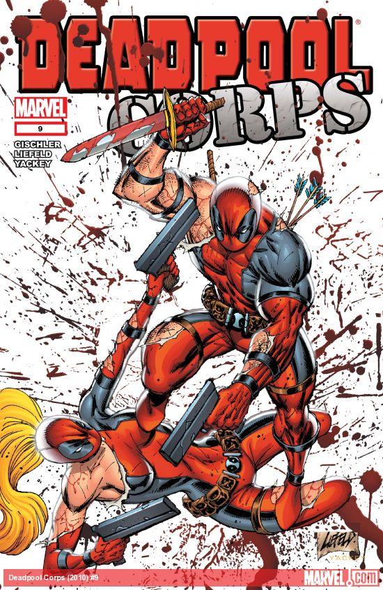 Deadpool Corps (2010) #9