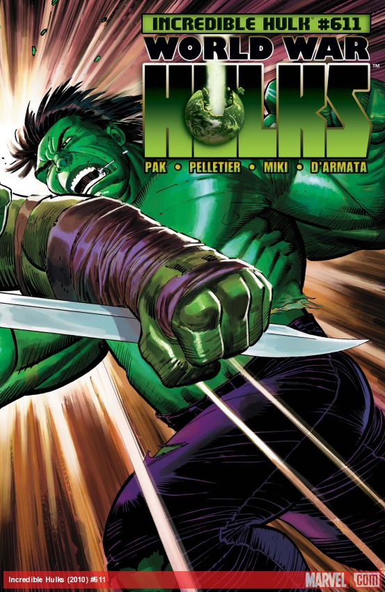 Incredible Hulks (2010) #611