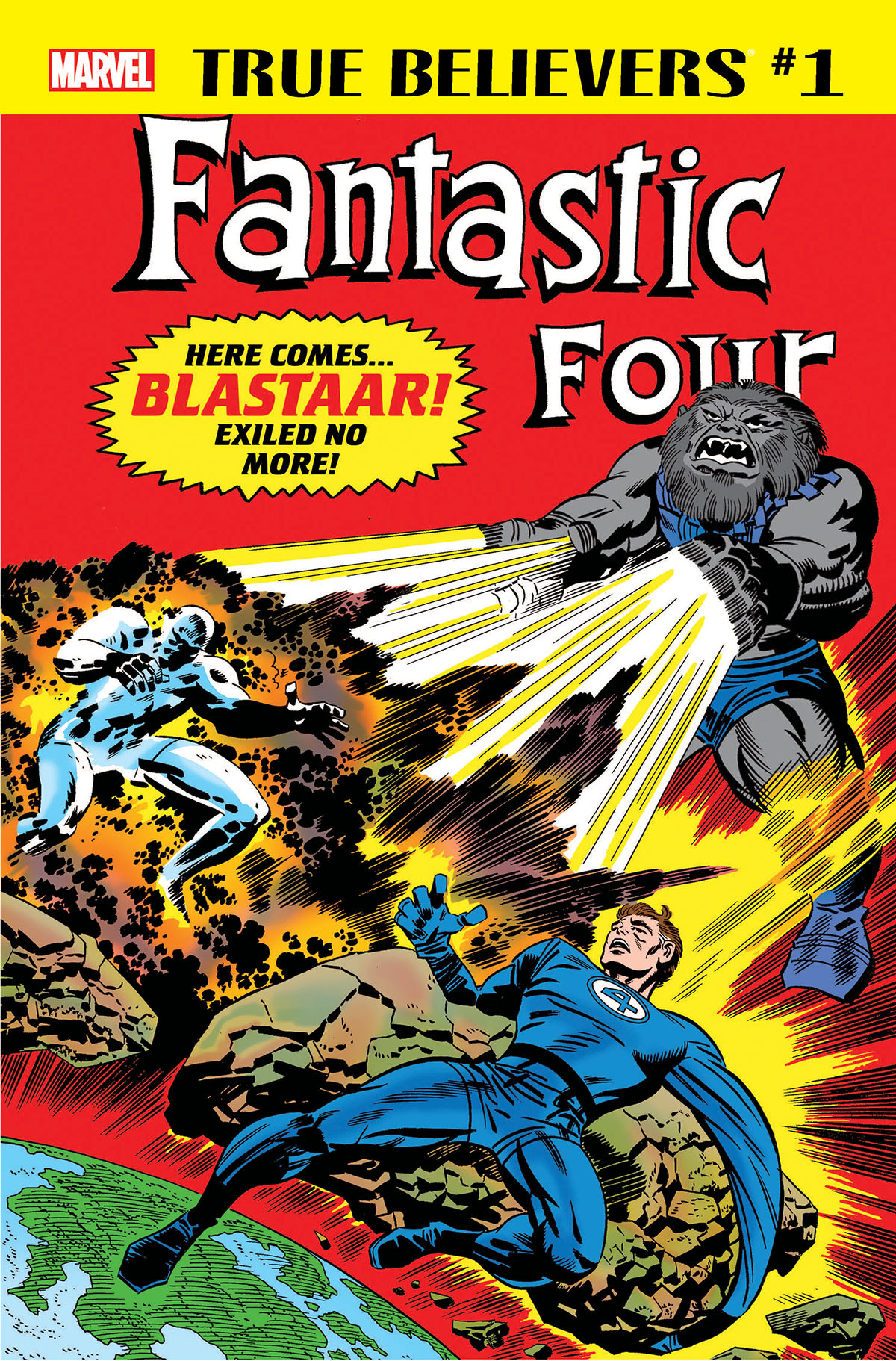 True Believers: Fantastic Four - Blastaar (2018) #1