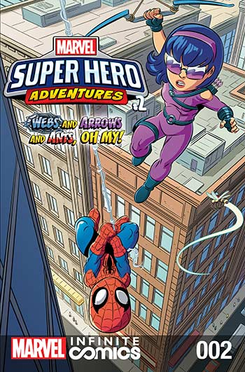 Marvel Super Hero Adventures: Webs and Arrows and Ants, Oh My! (2019) #2