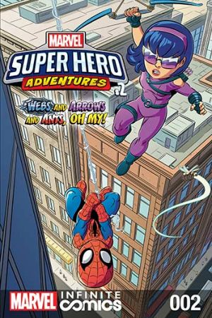 Marvel Super Hero Adventures: Webs and Arrows and Ants, Oh My! #2