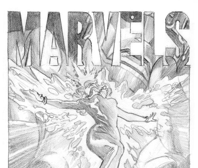MARVELS EPILOGUE 1 ALEX ROSS SKETCH VARIANT #1