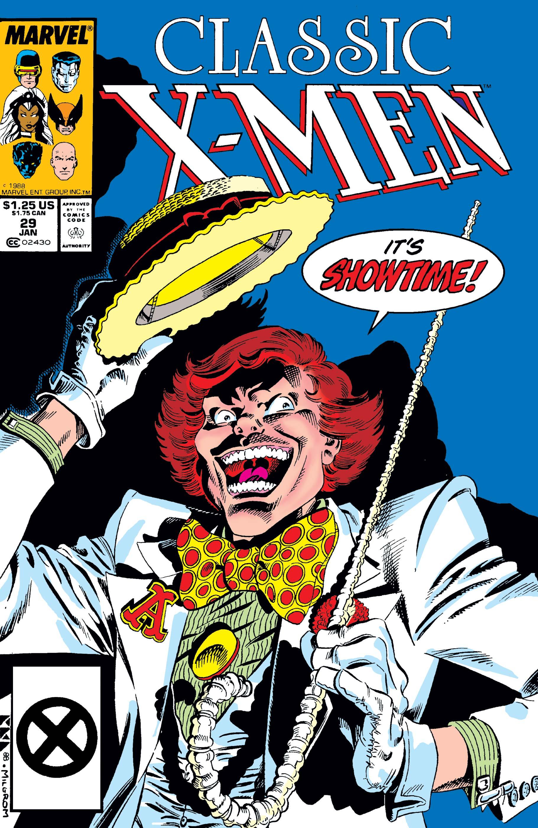 Classic X-Men (1986) #29