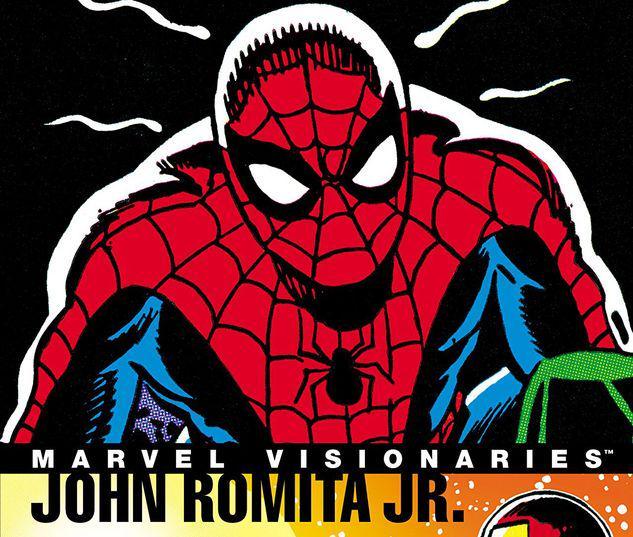 MARVEL VISIONARIES: JOHN ROMITA JR. TPB #1
