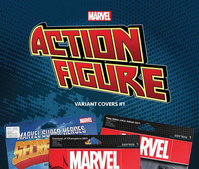 MARVEL: THE ACTION FIGURE VARIANT COVERS 1 #1
