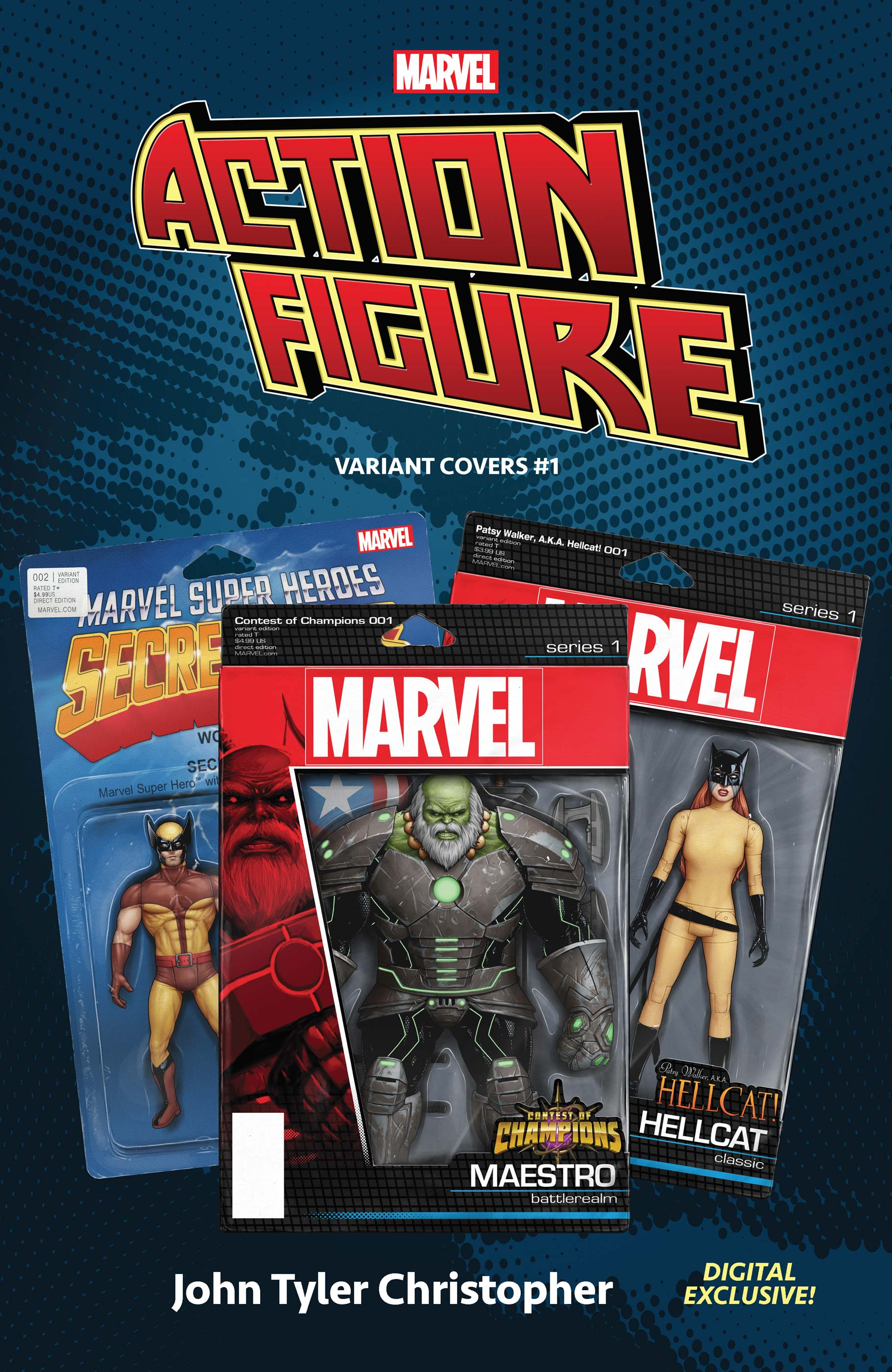 Marvel: The Action Figure Variant Covers (2020) #1