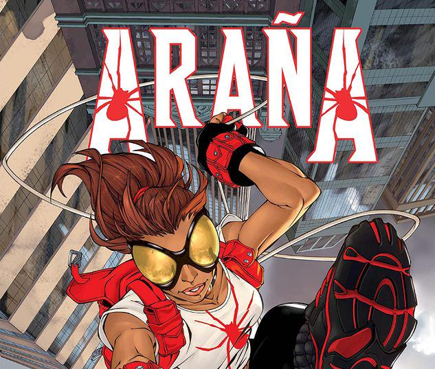 ARANA: HERE COMES THE SPIDER-GIRL GN-TPB #1