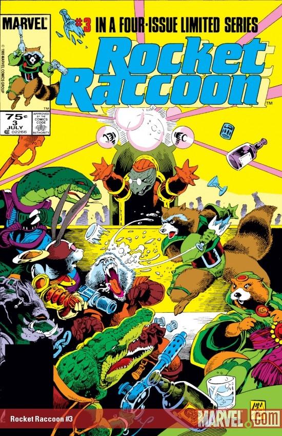 Rocket Raccoon (1985) #3