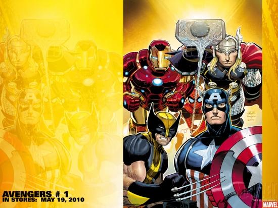 Avengers (1963) #1 Wallpaper