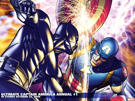 Ultimate Captain America Annual (2008) #1 Wallpaper