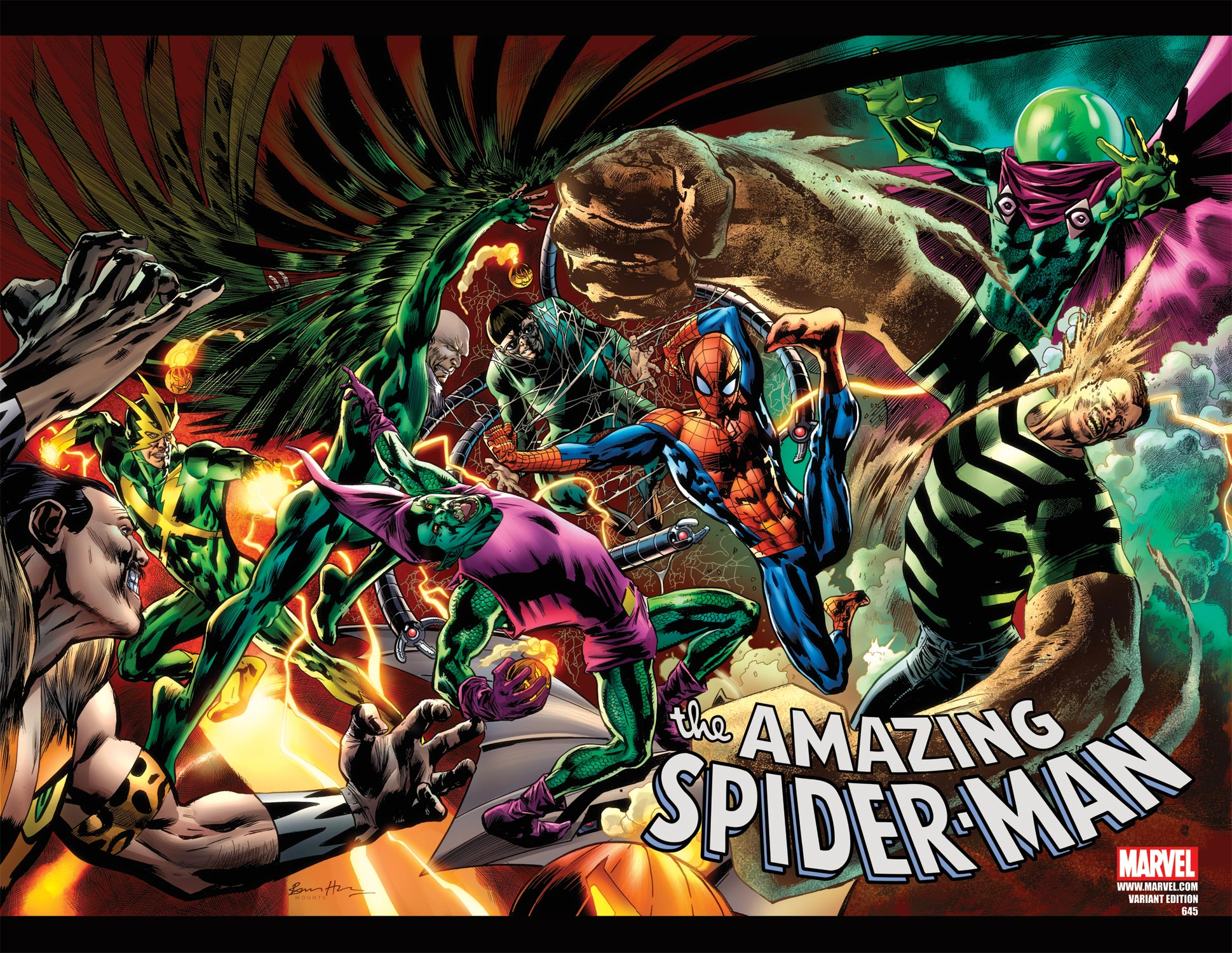 Amazing Spider-Man (1999) #645 (SPIDEY VS. VARIANT)