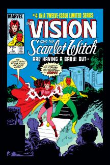 Vision and the Scarlet Witch #4