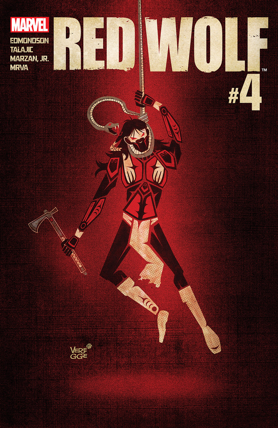 Red Wolf (2015) #4
