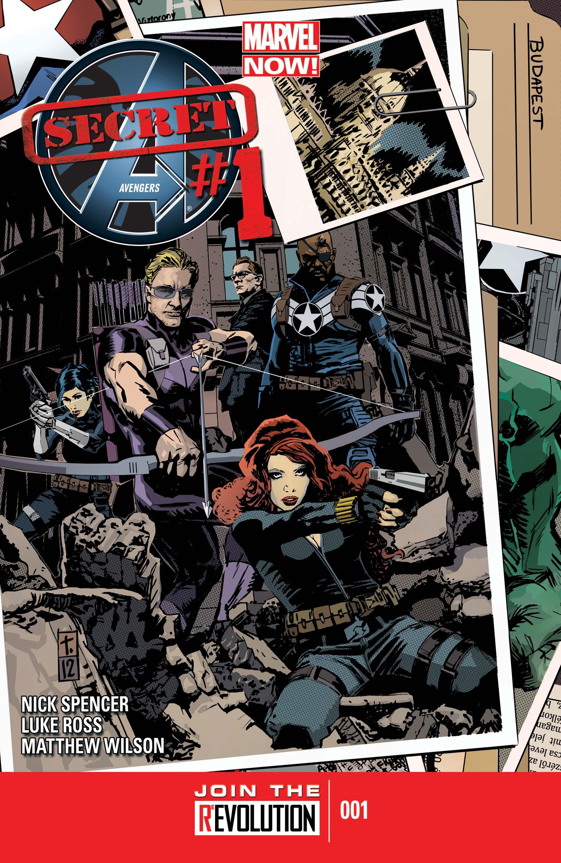 Secret Avengers (2013) #1