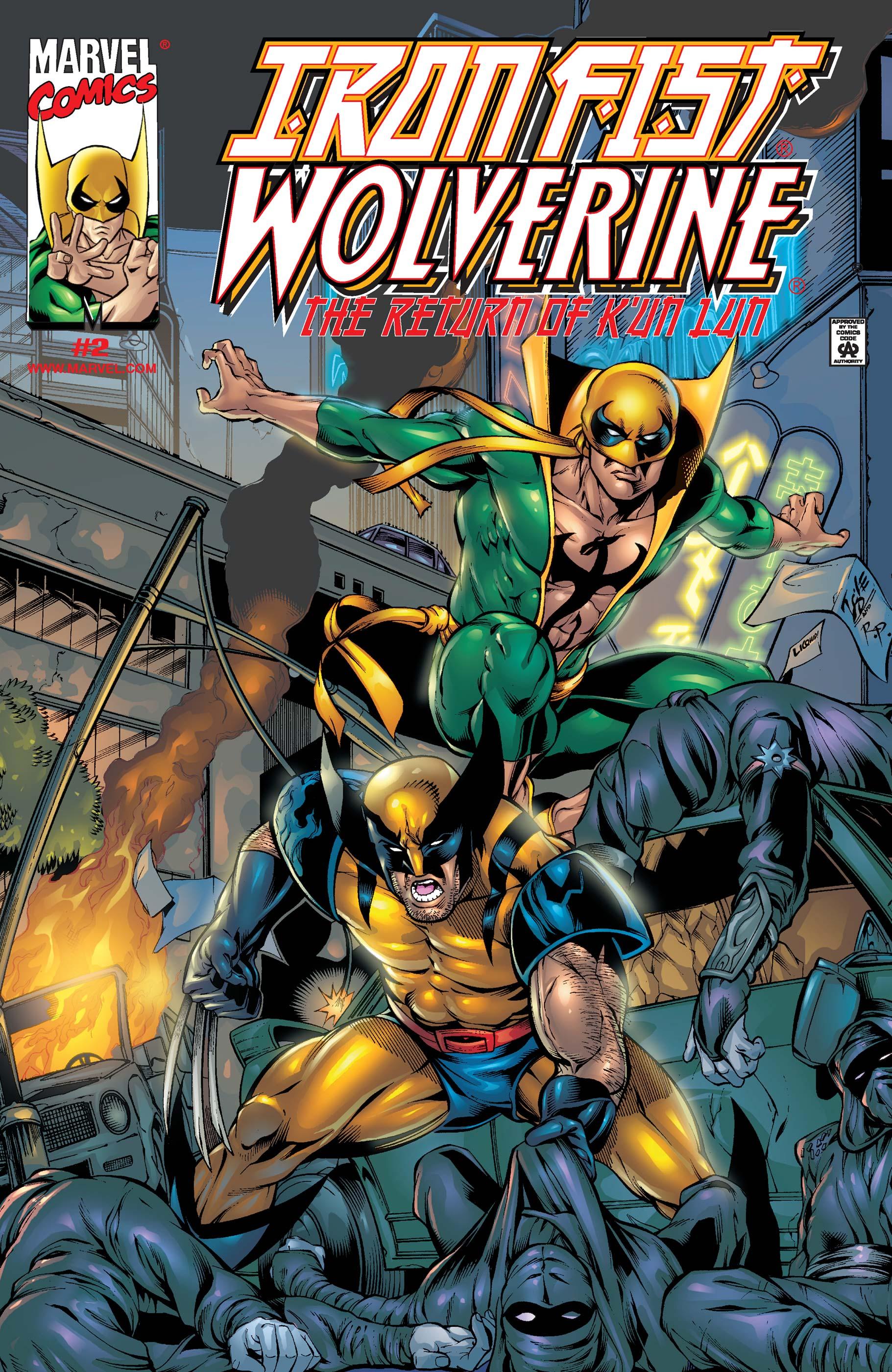 Iron Fist/Wolverine (2000) #2