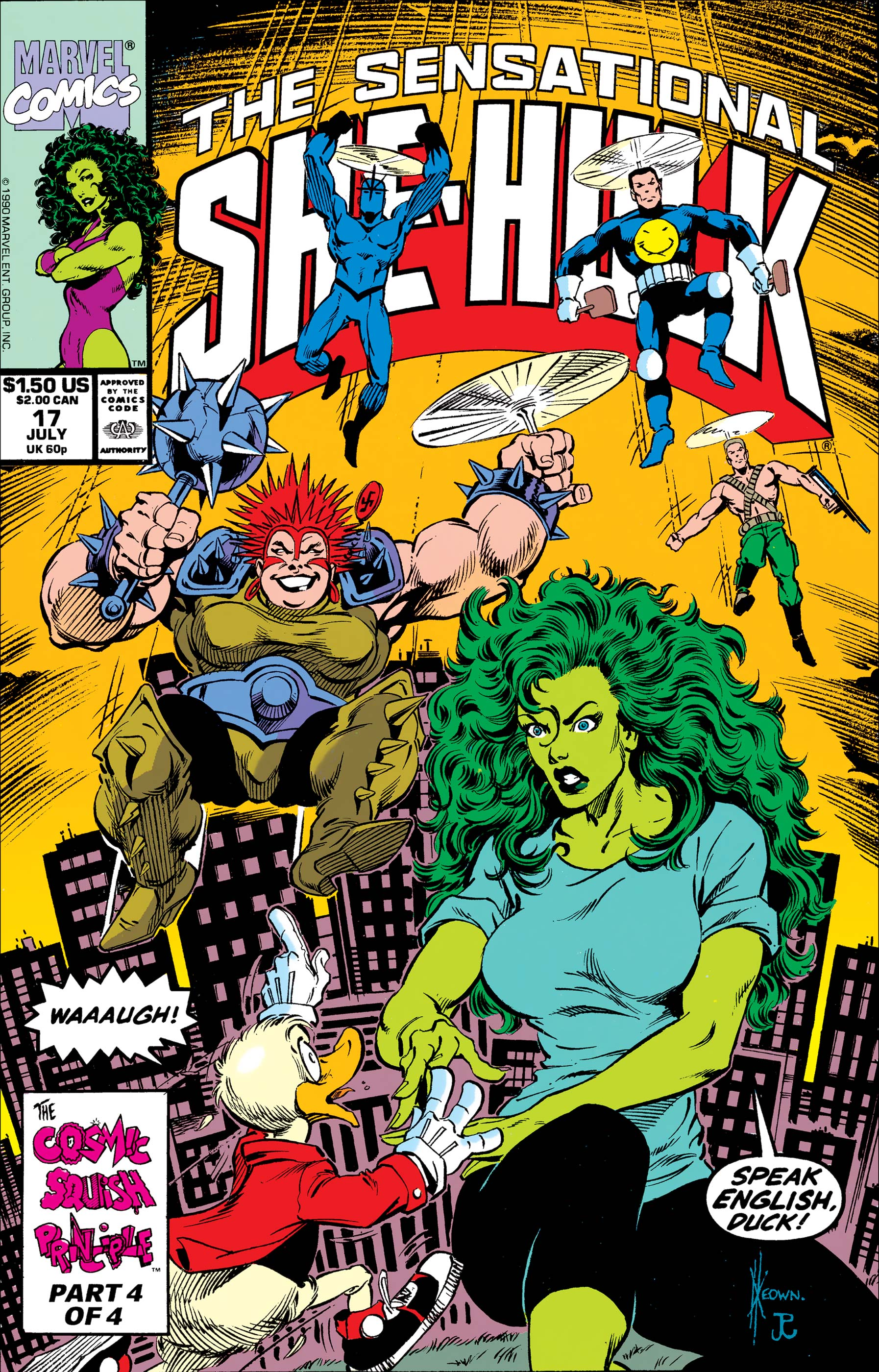 Sensational She-Hulk (1989) #17