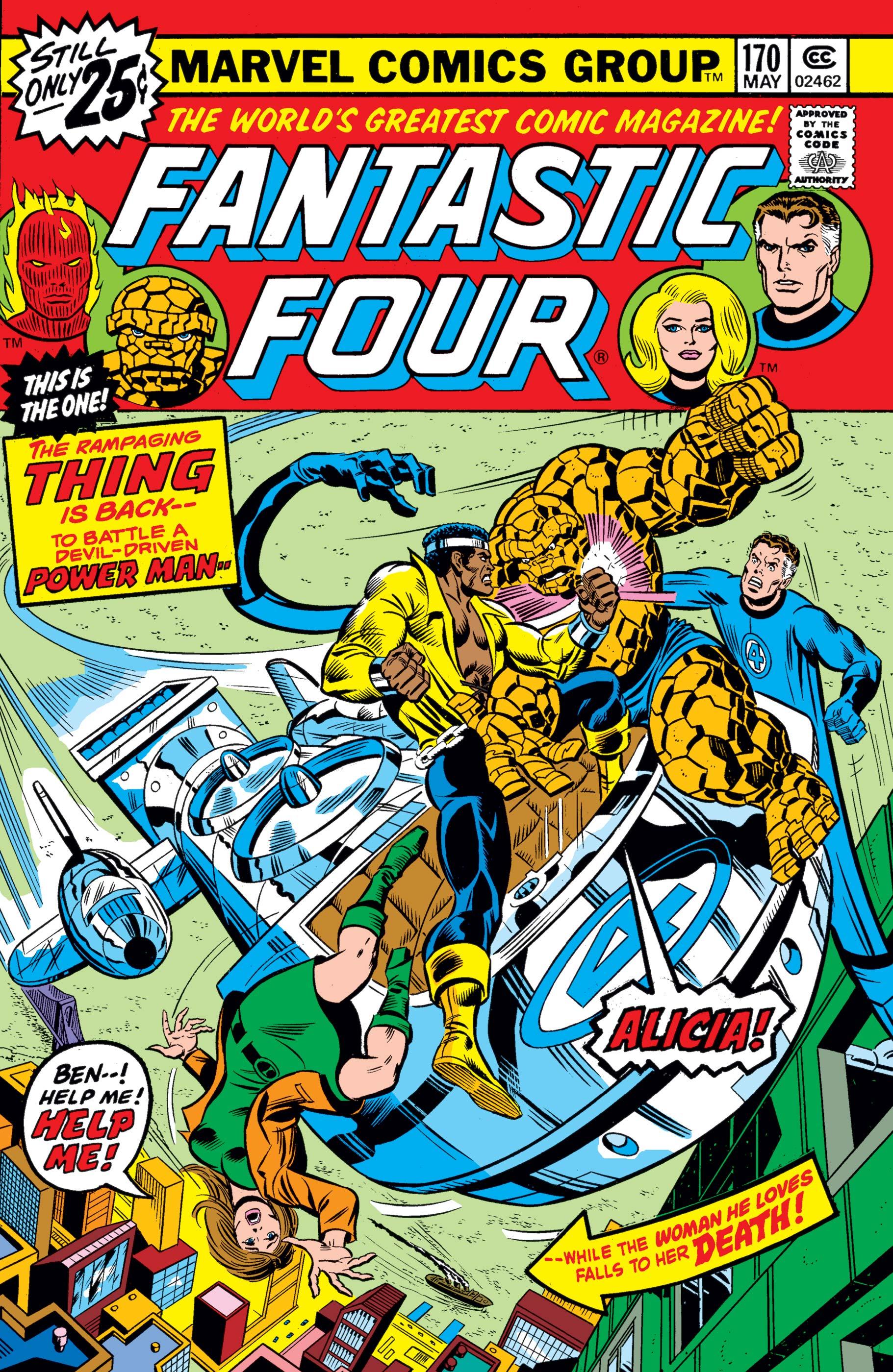 Fantastic Four (1961) #170
