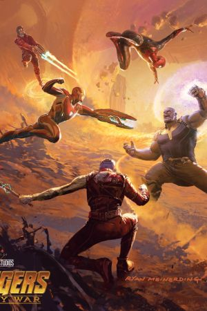 Marvel's Avengers: Infinity War - The Art of the Movie (Hardcover)
