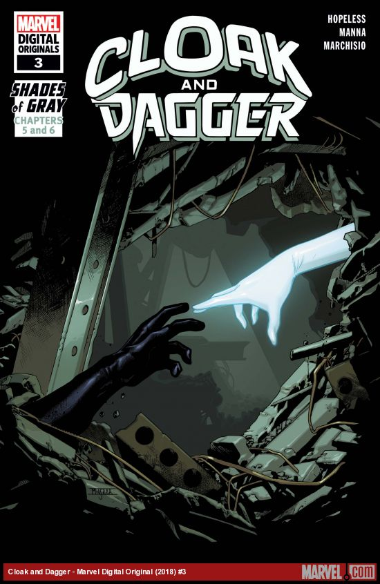 Cloak and Dagger: Marvel Digital Original - Shades of Gray (2018) #3