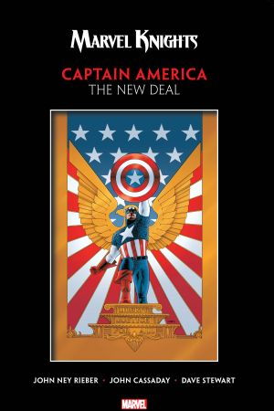Marvel Knights Captain America By Rieber & Cassaday: The New Deal (Trade Paperback)