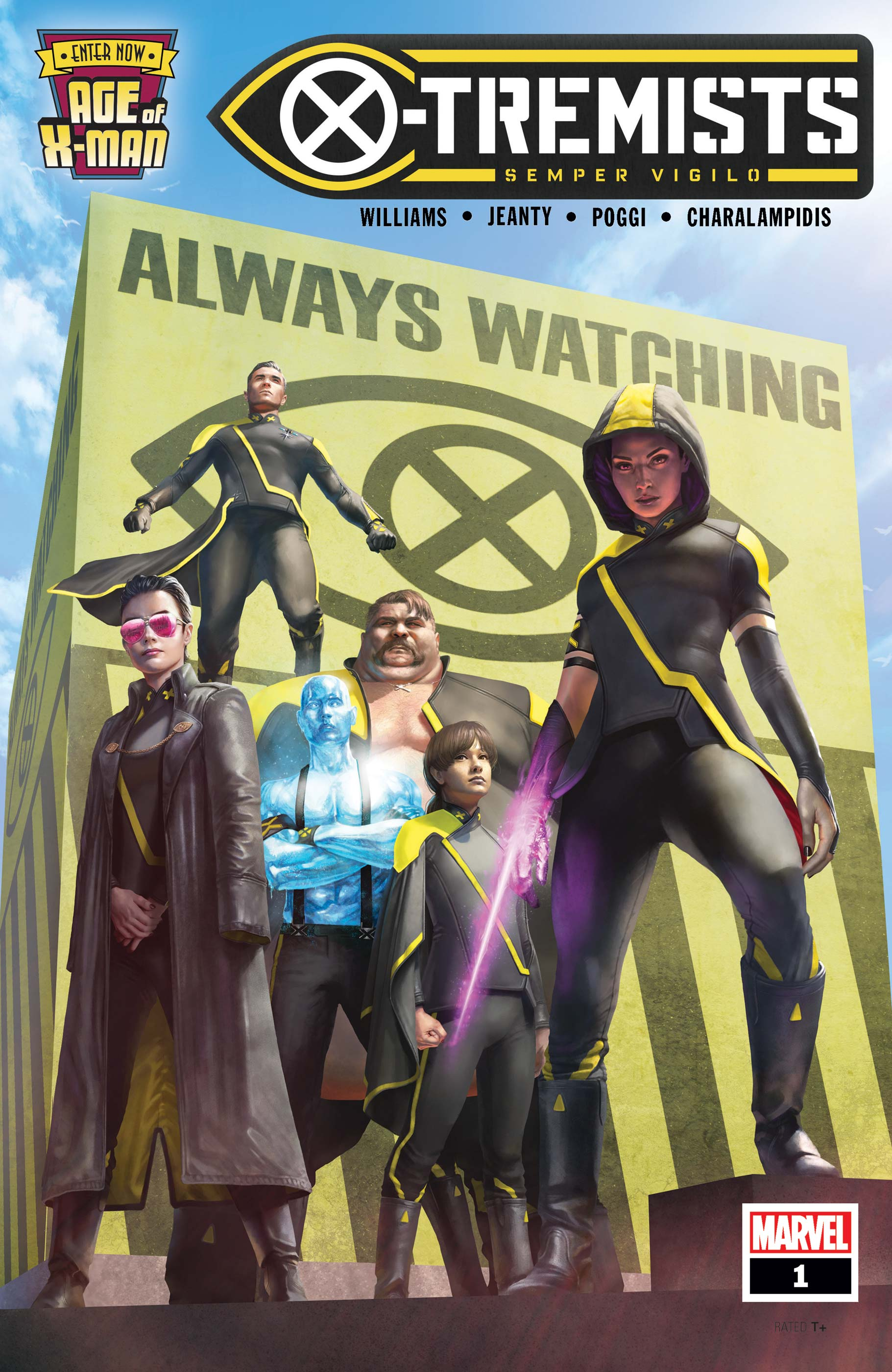 Age of X-Man: X-Tremists (2019) #1