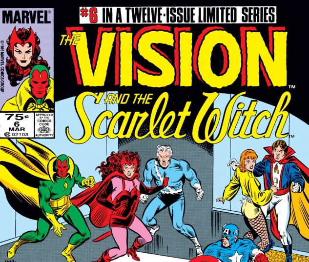 VISION AND THE SCARLET WITCH (1985) #6