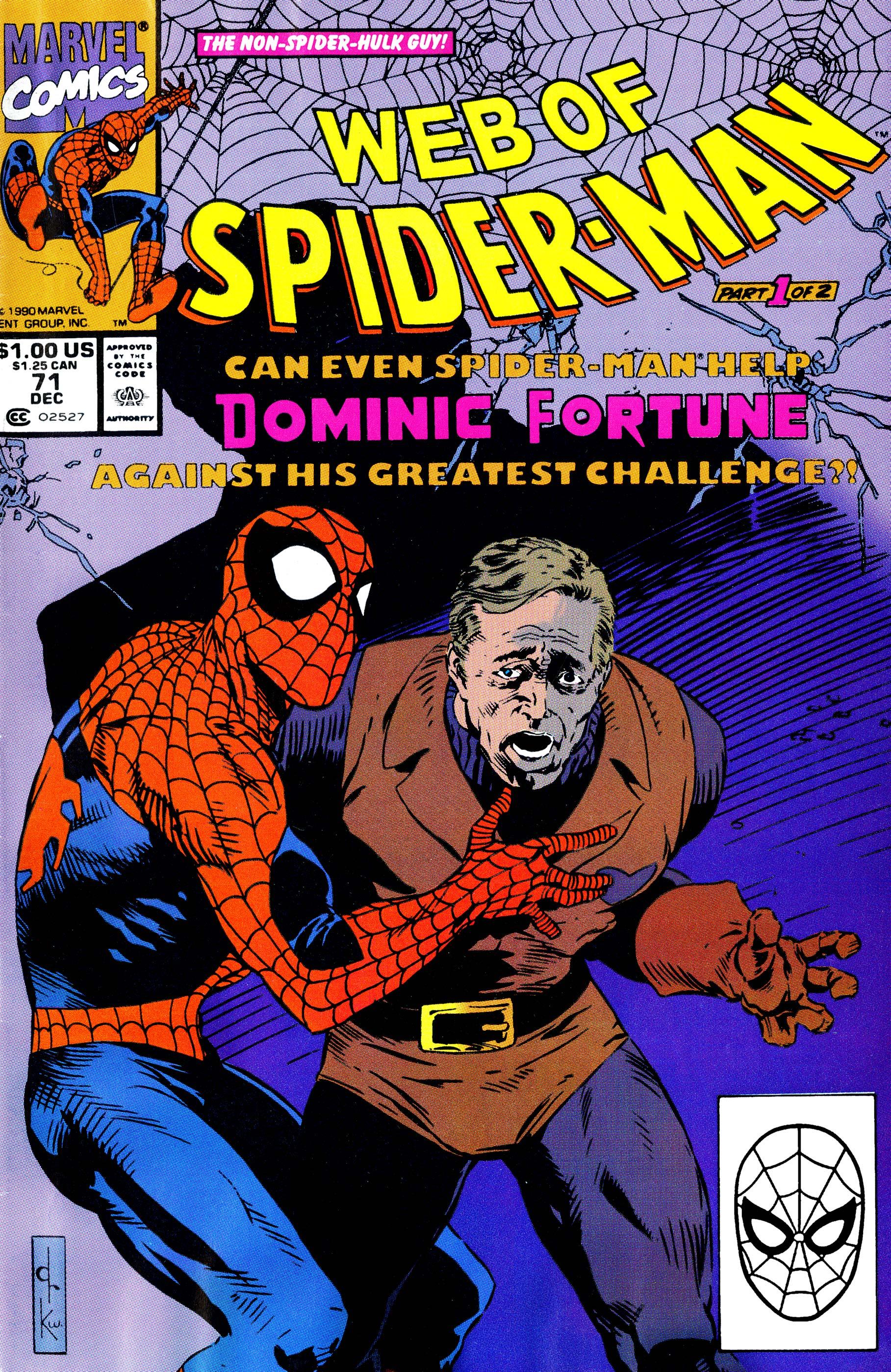 Web of Spider-Man (1985) #71