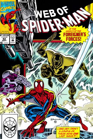 Web of Spider-Man (1985) #92