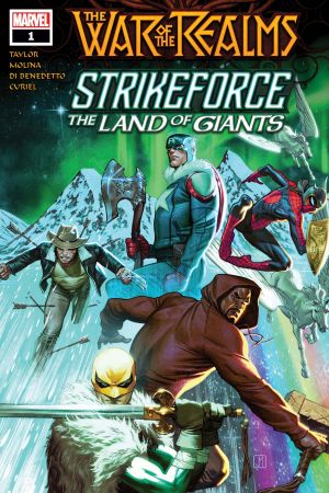 War Of The Realms Strikeforce: The Land Of Giants #1