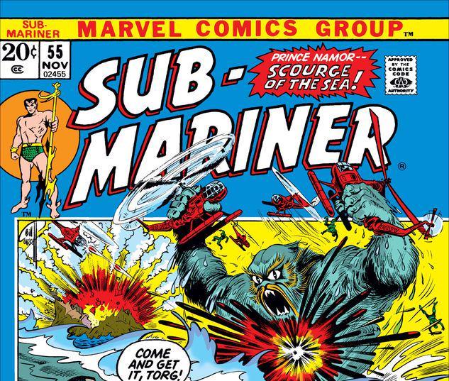 Sub-Mariner #55