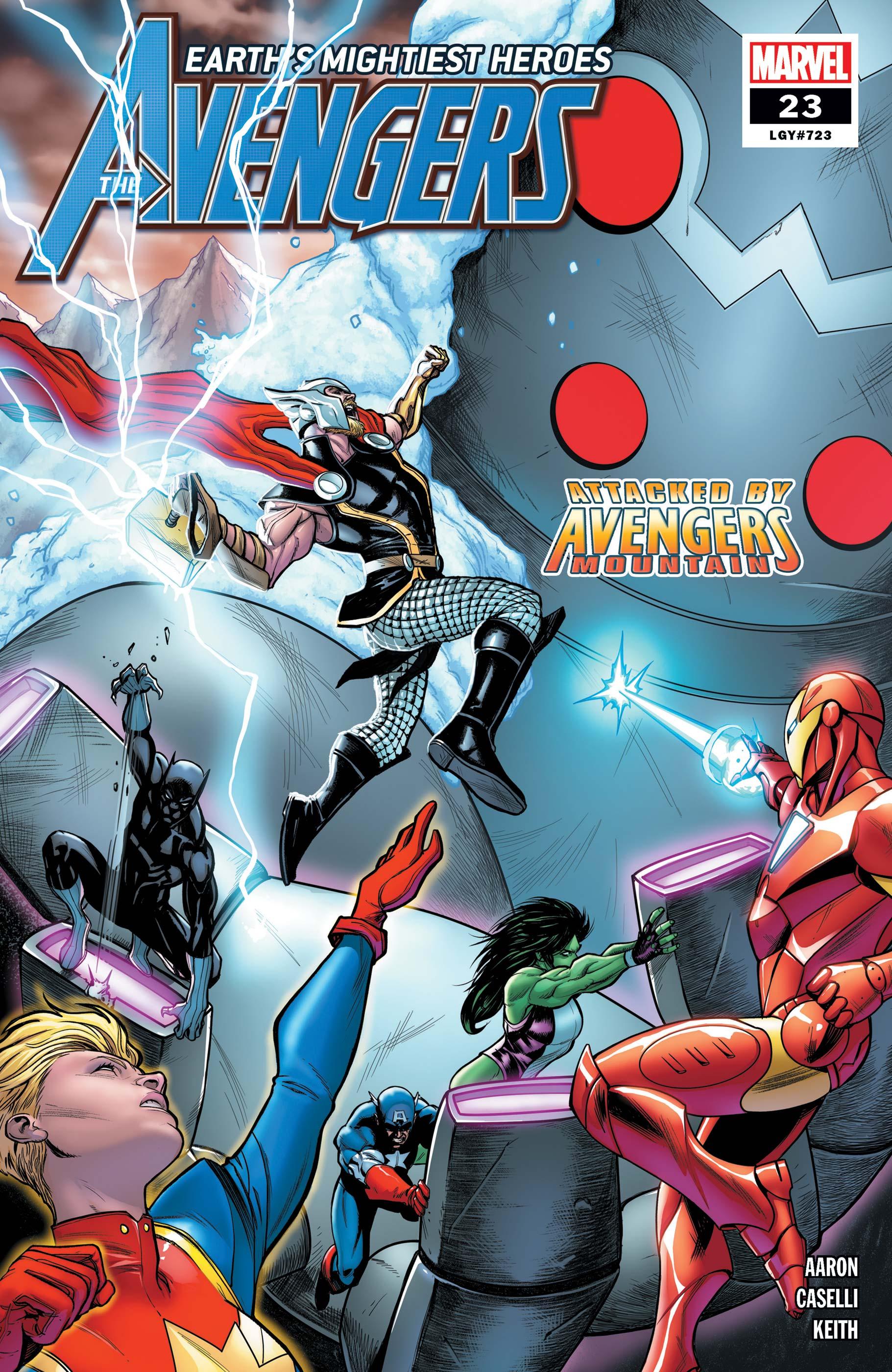 Avengers (2018) #23