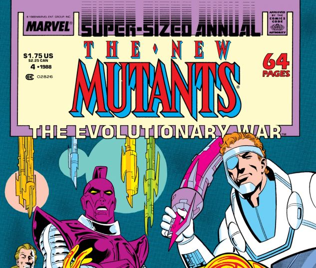 NEW MUTANTS ANNUAL (1984) #4