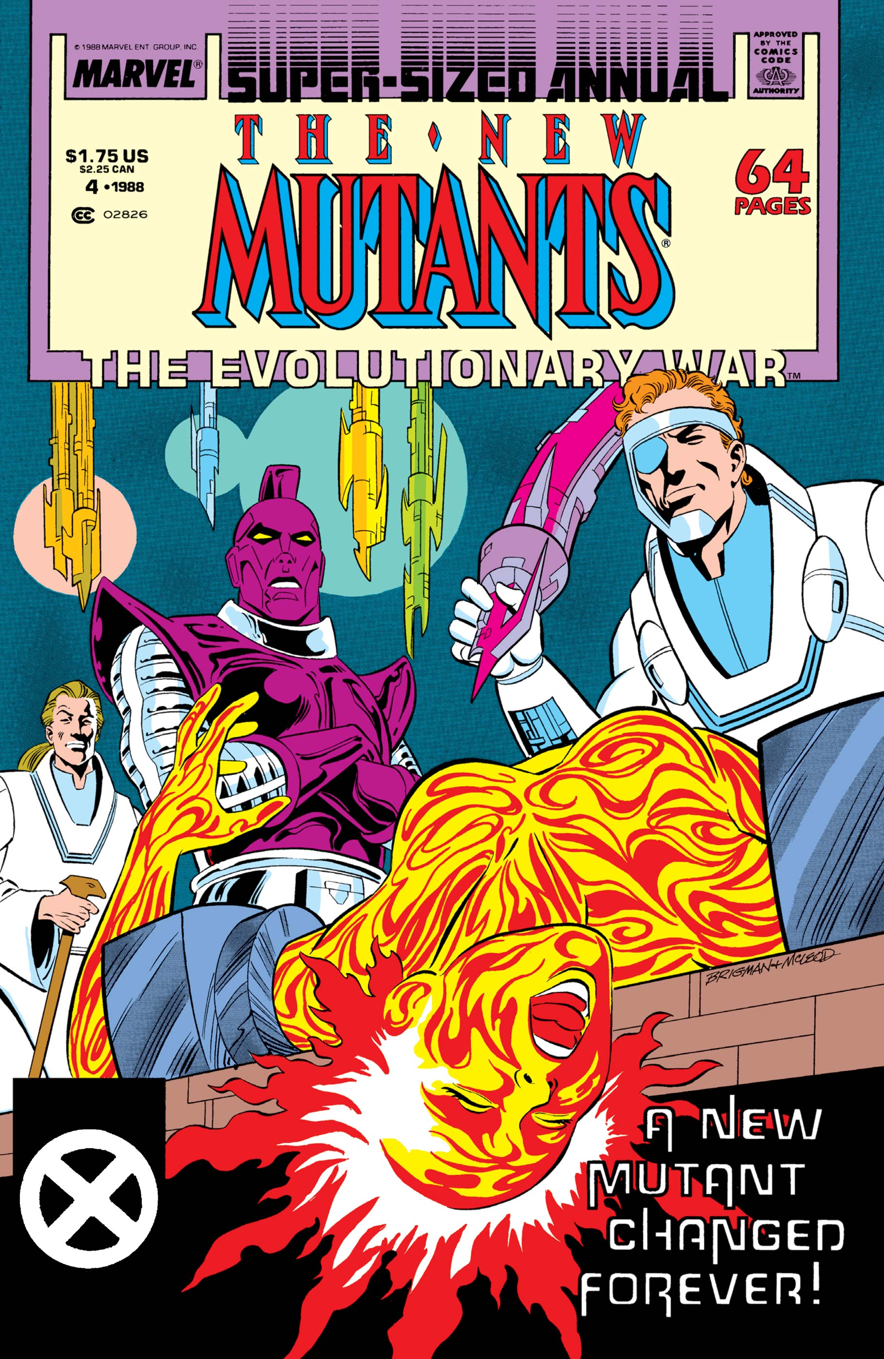New Mutants Annual (1984) #4