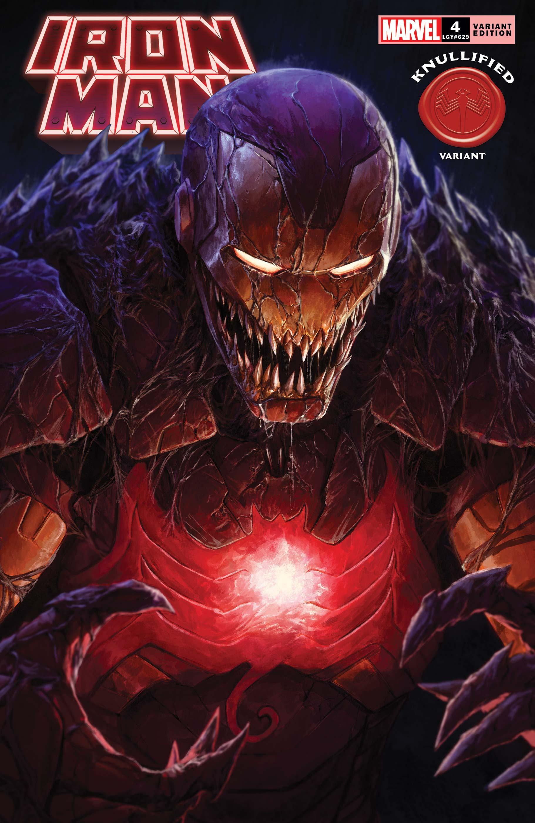 Iron Man (2020) #4 (Variant)