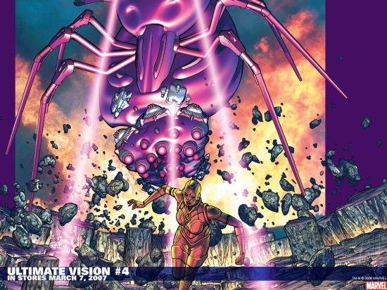 Ultimate Vision (2006) #4 Wallpaper