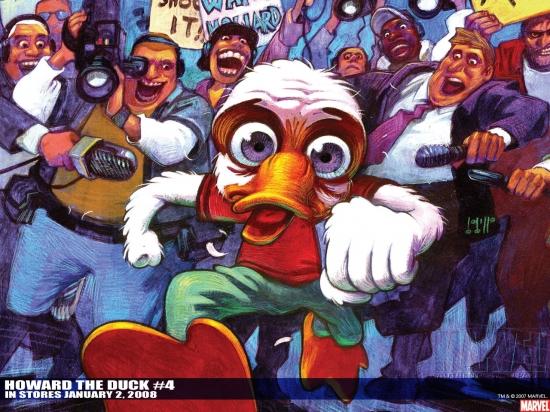 Howard the Duck (1976) #4 Wallpaper
